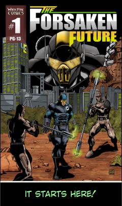 Web comic book The Forsaken Future